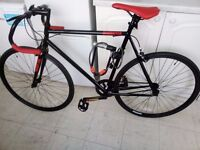 Road Bike with Kryptonite lock and cable!