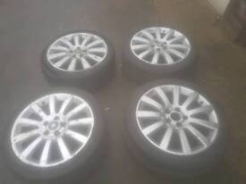 Astra twintop alloys and tyres