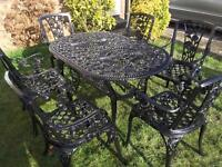 Garden. Furniture table & Chairs
