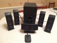 Logitech X-540 surround sound speaker system