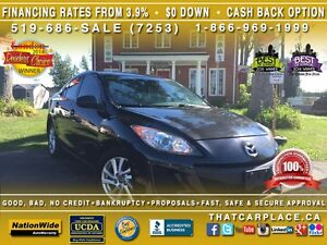 2013 Mazda MAZDA3 GS-SKY-$49/Wk-Htd Sts-USB/AUX/CD/Mp3-Cruise London Ontario image 1