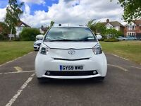 Toyota IQ 1.0 VVT-i ... Low 51400 Miles ... 1 Owner ... Long MOT... 0 Tax... SatNav...Toyota iQ 2009