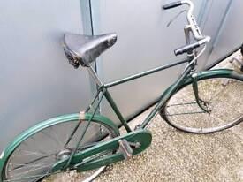 Old vintage Triumph bicycle