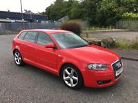2007 Audi A3 1.9 TDI Sport With Full Service History and 2 keys+ Not A4 VW Golf GTI