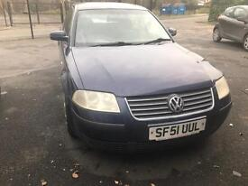 51 plate VW Passat, well looked after, tested until Nov. 2017