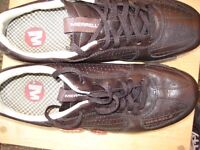 Merrell leather performance trainers