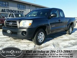 2010 Toyota Tacoma 2.7L Extended Cab! Local Manitoba Truck!