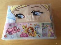 Cinderella Palace Pet Single Bedding Set New