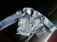 ZARA JEANS JACKET 3-4 years ideal for a girl and a boy