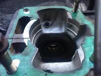Aprillia rs125 engine crank casings