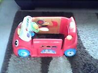free fisher price crawl and learn car