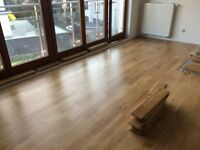 Laminate, engineered and solid wood floors fitting - 10f/m2
