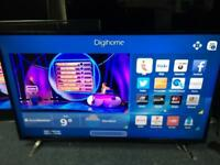 "Digihome 50"" smart FULL HD LED TV scratch on screen"