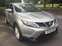NISSAN QASHQAI 1.5 DCI 2014 NEW SHAPE ACENTA WITH SMART VISION PACK