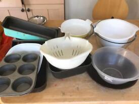 Pots, pans and bowls
