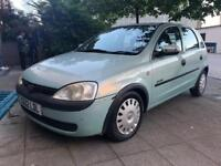 2002 Vauxhall Corsa 1.2 Comfort 16V Bargain Quick Sale Mot Tax Clean Car 2 Keys Service History