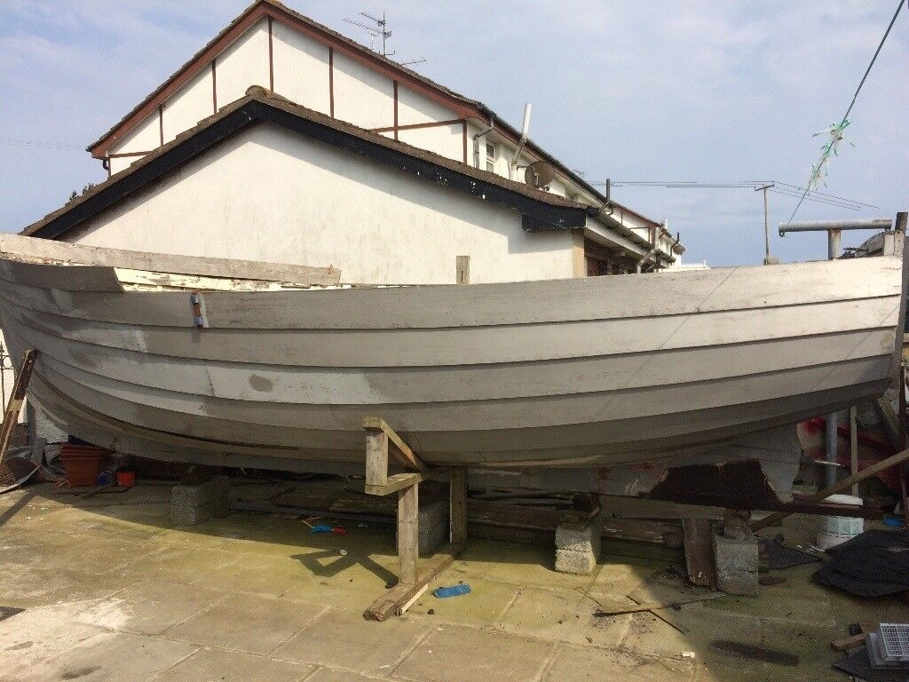 Boat Project 21 Ft Clinker Wood Built Boat In Downpatrick County Down Gumtree