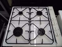 Neff FD7906/0103 white enamel and glass Gas Hob in very clean and good condition