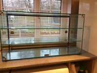 LINCAT Glass Display Cabinet - Excellent Condition