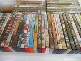 DVD Job Lot of 200++ Modern Titles Excellent cond.,