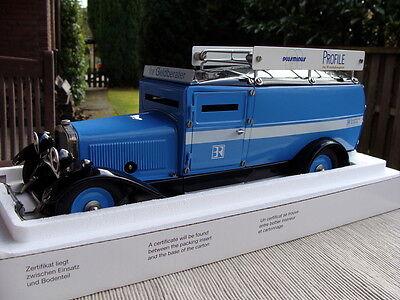 Märklin 1101 - BR Wirtschaftstelegramm Modell Mechanisch 1:16 - TOP in OVP !