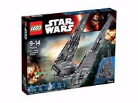 LEGO Star Wars 75104: Kylo Ren's Command Shuttle - New & Boxed
