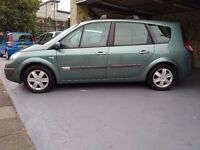 RENAULT GRAND SCENIC 7 SEATER LONG MOT PX WELCOME