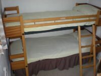 Quality sprung base bunk beds