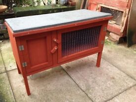 HUTCH AND RUN FOR SALE