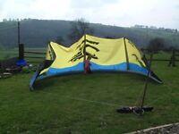 Surf Kite, Cabrinha Black Tip 9.4