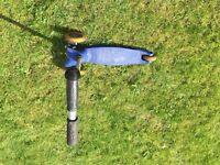 Mini Micro Blue scooter for sale