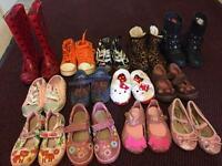 13 pair Girl size 6,7 Lelli Kelly shoes bundles