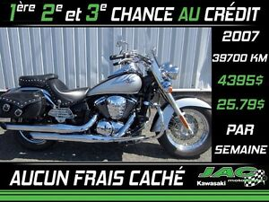 2007 Kawasaki Vulcan 900 Classic LT 25.79$*/sem**  Tout Tout inc