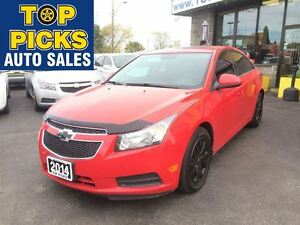 2014 Chevrolet Cruze LT TURBO, 6 SPEED MANUAL, SUNROOF, POWER GR