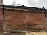 Free garage / workshop pre fab 7ft h 5m wide in bristol