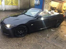 BMW 330D 59REG M Sport Convertible Black