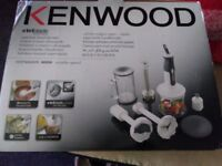 BRAND NEW,NEVER USED, ORIGINAL PACKAGING.KENWOOD HAND BLENDER