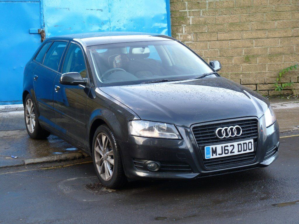 2012 62 audi a3 sportback 1 6 tdi diesel black 5 door full service history long mot 1 owner in. Black Bedroom Furniture Sets. Home Design Ideas