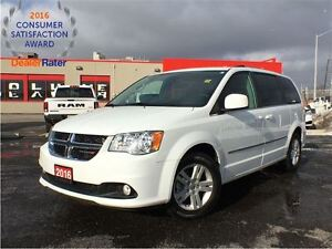 2016 Dodge Grand Caravan CREW***FULL STOW AND GO**POWER WINDOWS*