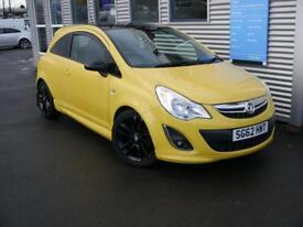 VAUXHALL CORSA 1.2 LIMITED EDITION 3d 83 BHP **FULL SERVICE HISTORY** (yellow) 2012
