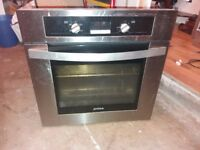 Integrated Electric Oven Silver Trim