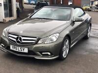 Mcedres e220 CDi Blue efficiency 2 door sport great a full Mercedes history 07983431845