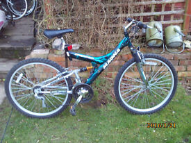 MAGNA CREATION DUEL SUSPENTION MTB ONE OF MANY QUALITY BICYCLES FOR SALE