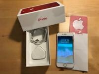 iPhone 7 128gb RED UNLOCKED warranty (limited edition)