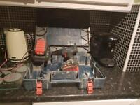 Bosch batteries and charger