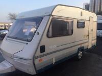 1995 abi marauder 450 lightweight swift elddis caravan 4 berth AWNING can deliver February sale