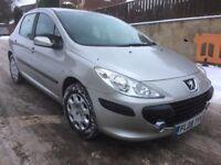 Peugeot 307 1.6 HDI DIESEL cheap tax insurance cheap car bargain 5 door !