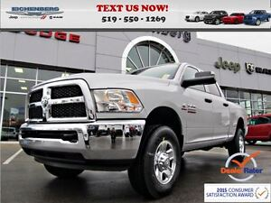 2016 Ram 2500 SXT 4X4 *NO CHARGE DIESEL & 0% FOR 84 MO*