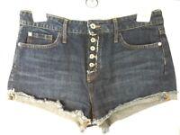 River Island Denim High Waisted Shorts