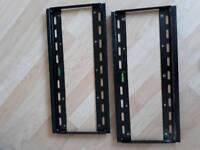 2 tv wall brackets mounts